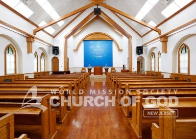 World Mission Society Church of God in Bogota, WMSCOG NJ Sanctuary