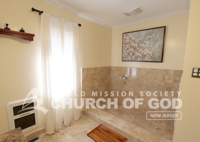 world mission society church of god in ridgewood, wmscog in new jersey, baptism room
