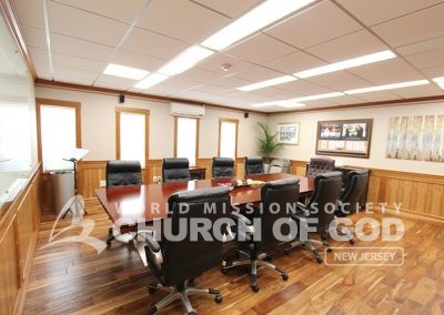 world mission society church of god in ridgewood, wmscog in new jersey, conference room
