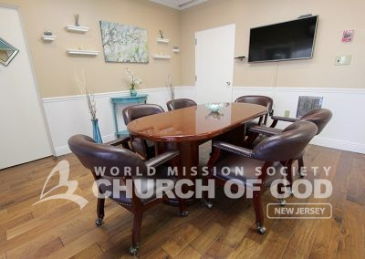 world mission society church of god in ridgewood, wmscog in new jersey, Bible study room