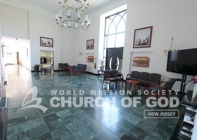 world mission society church of god in ridgewood, wmscog in new jersey, sanctuary foyer