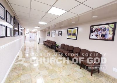 world mission society church of god in ridgewood, wmscog in new jersey, fellowship hallway