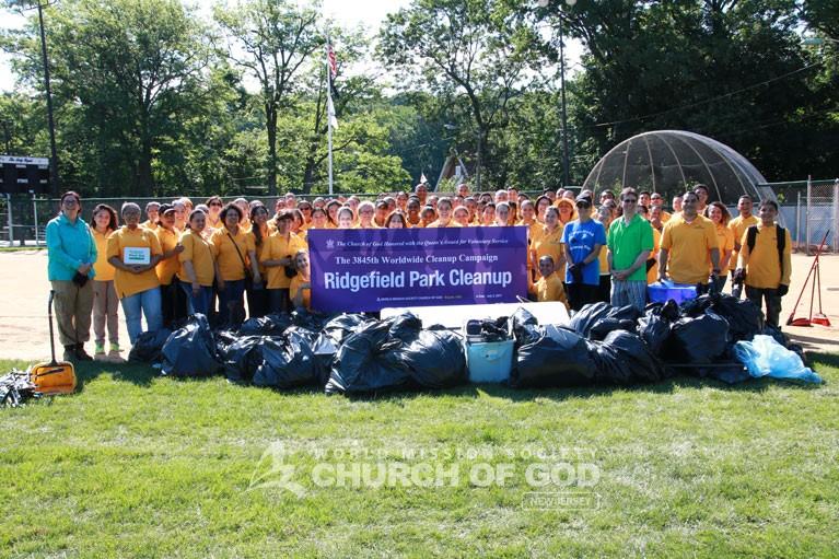 Veterans Memorial Park Cleanup