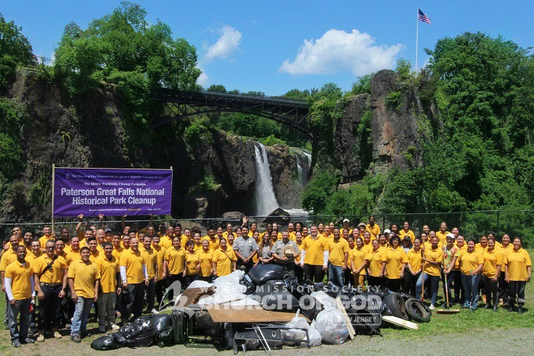 Paterson Great Falls National Historical Park Cleanup