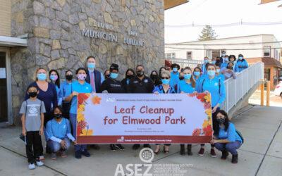 Elmwood Park Leaf Cleanup Hosted by ASEZ