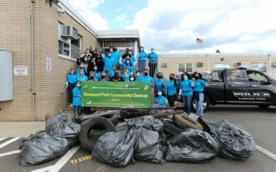 ASEZ Earth Day Cleanup in Elmwood Park, NJ